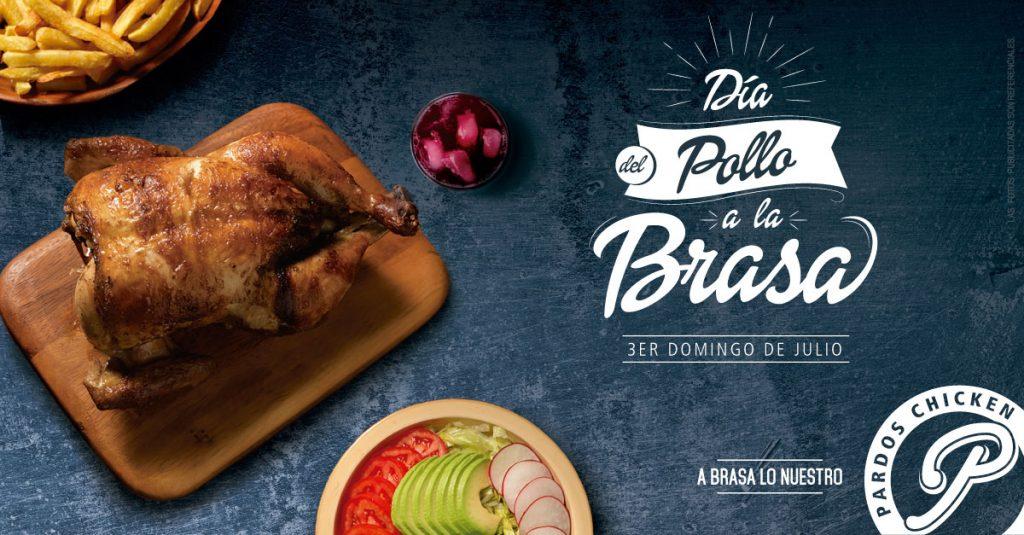 3er. Domingo de julio - Dia del Pollo a la Brasa