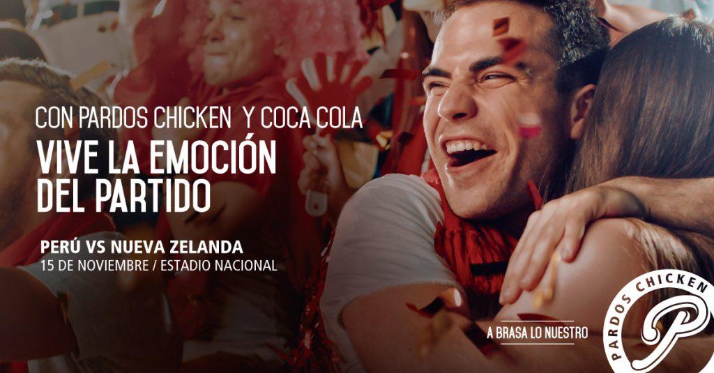 Vive La Copa Mundial Rusia 2018 con-Pardos Chicken y Coca Cola